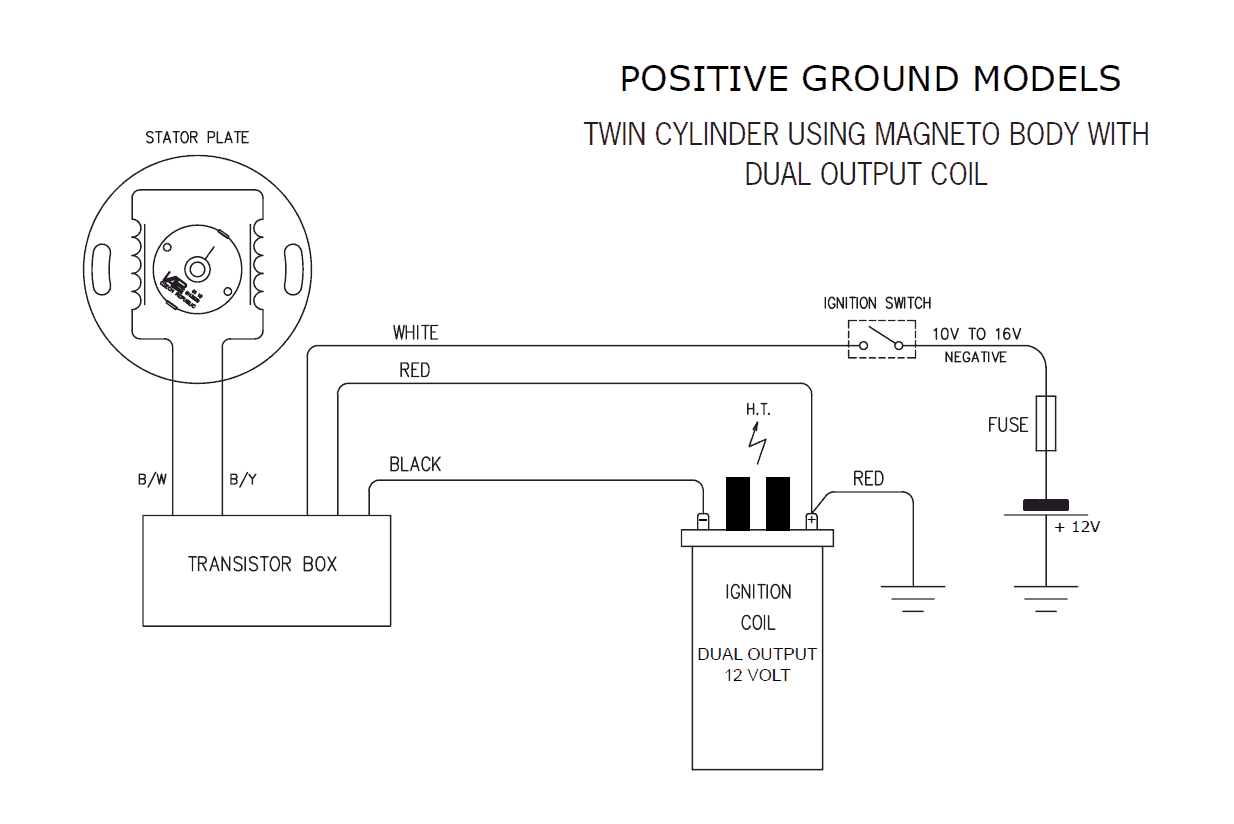 6 Volt Positive Ground Wiring Diagram Fuel Tank | Wiring Diagram - 6 Volt Positive Ground Wiring Diagram