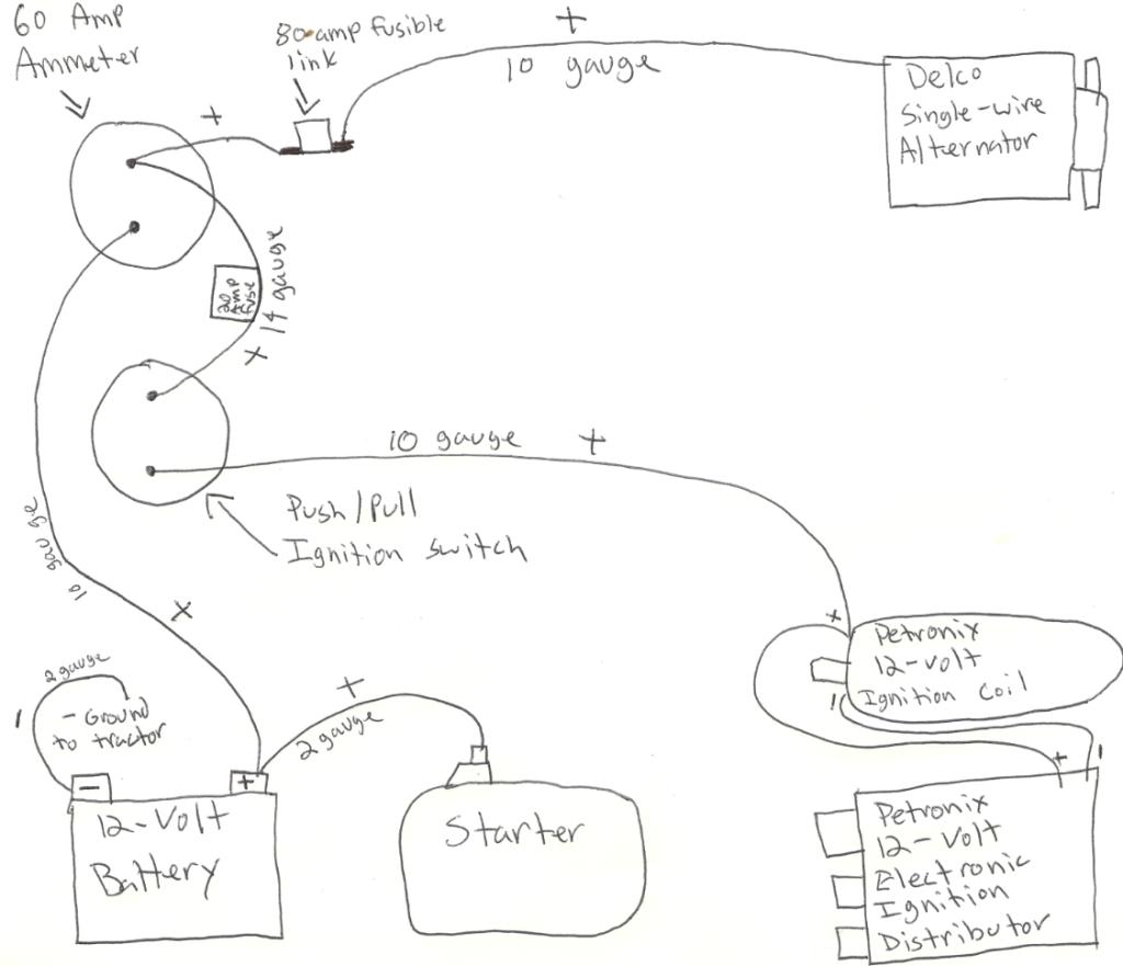 6 Volt To 12 Volt Conversion Wiring Diagram | Wiring Diagram - 6 Volt To 12 Volt Conversion Wiring Diagram