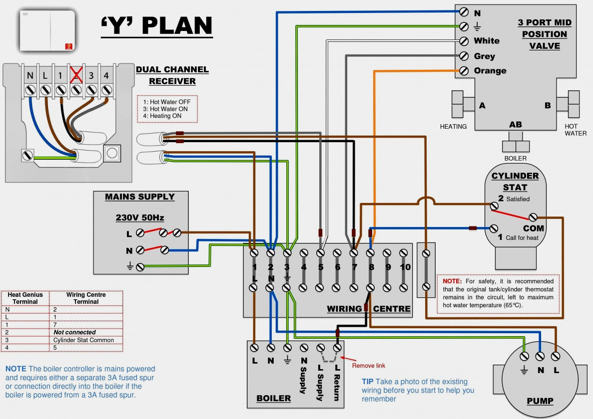 6 Wire Thermostat Wiring Diagram - Wiring Diagram Online - 5 Wire Thermostat Wiring Diagram