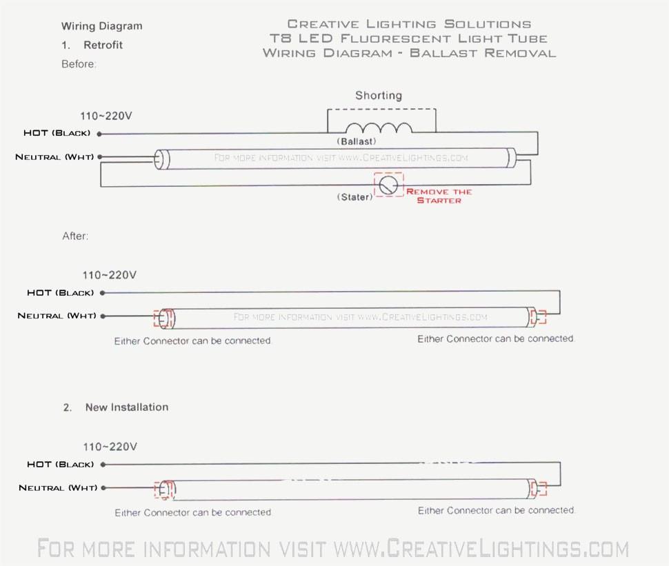 61Xz3Qgxqtl Sl1090 T8 Led Tube Wiring Diagram Random - Ballast Wiring Diagram T8