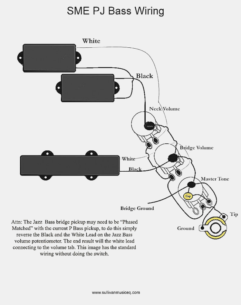62 Jazz Bass Wiring Diagram | Wiring Diagram - P Bass Wiring Diagram