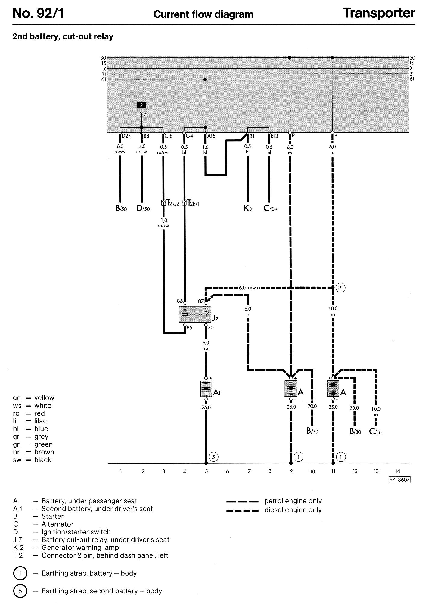 66 Vw Transporter Wiring Diagram   Best Wiring Library - Electric Heater Wiring Diagram