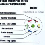 7 Blade Trailer Wiring Diagram   Trusted Wiring Diagram Online   Trailer Brake Wiring Diagram
