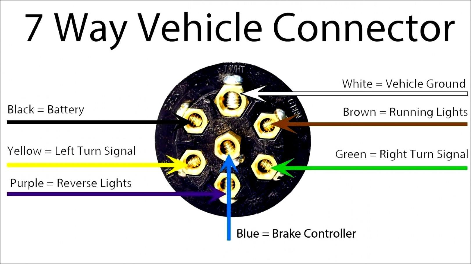 7 Way Light Diagram - Wiring Diagram Data - 7 Wire Trailer Wiring Diagram