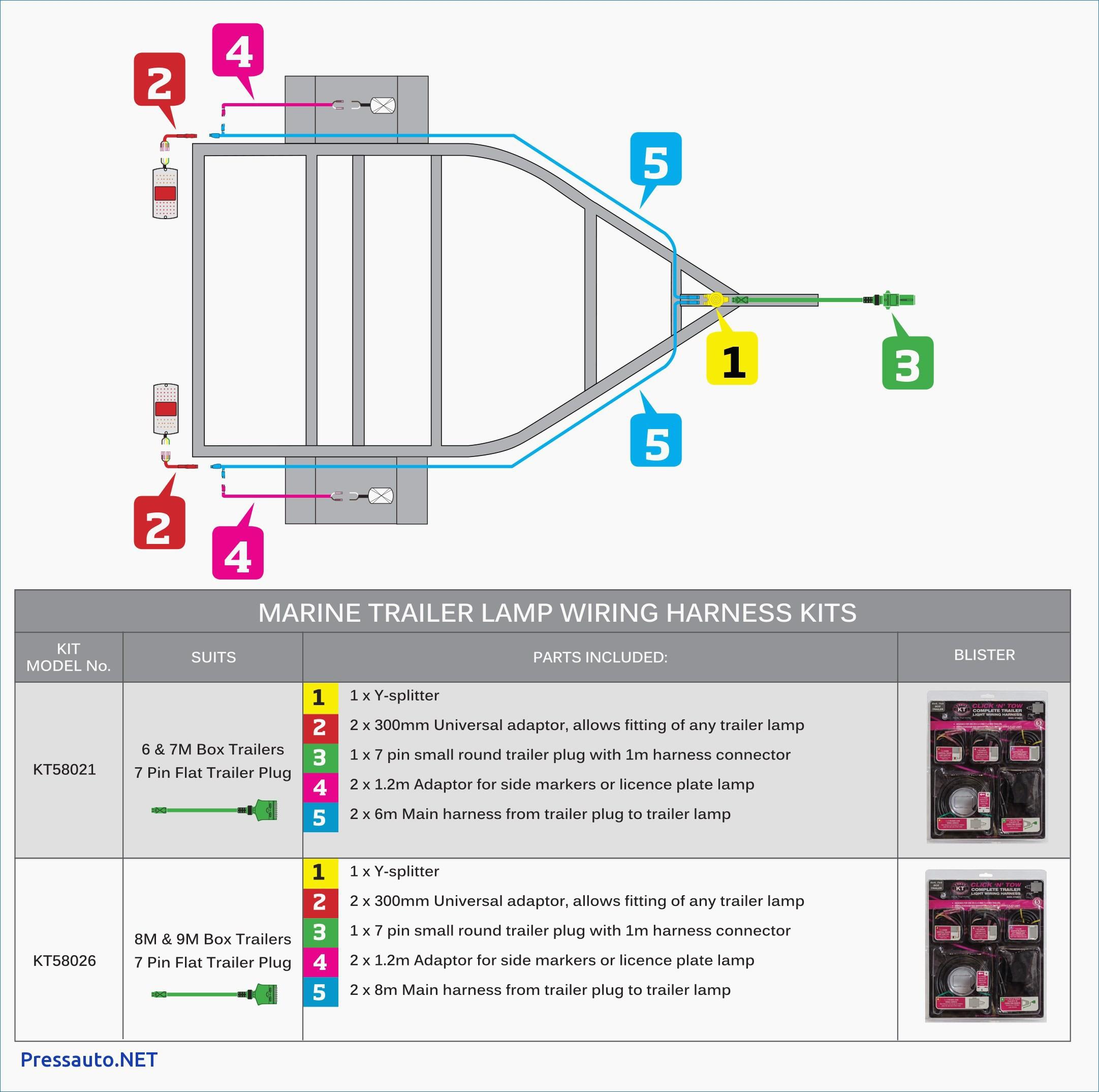 7 Way Round Trailer Wiring Diagram New 7 Wire Trailer Plug Diagram - Trailer Connector Wiring Diagram 7 Way