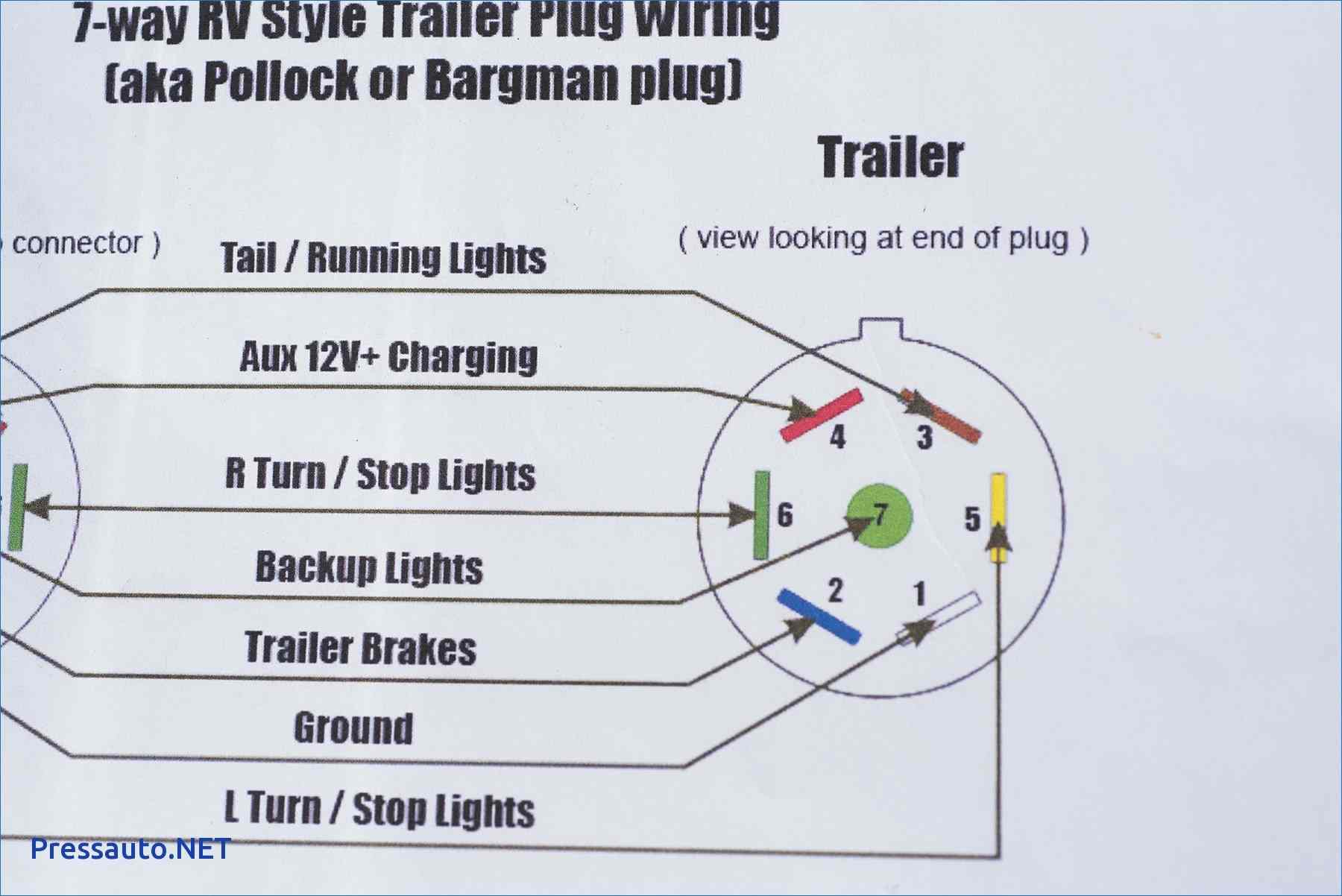 7 Way Trailer Plug Wiring Diagram Beautiful 7 Ford Trailer Wiring - 7 Way Trailer Plug Wiring Diagram Ford