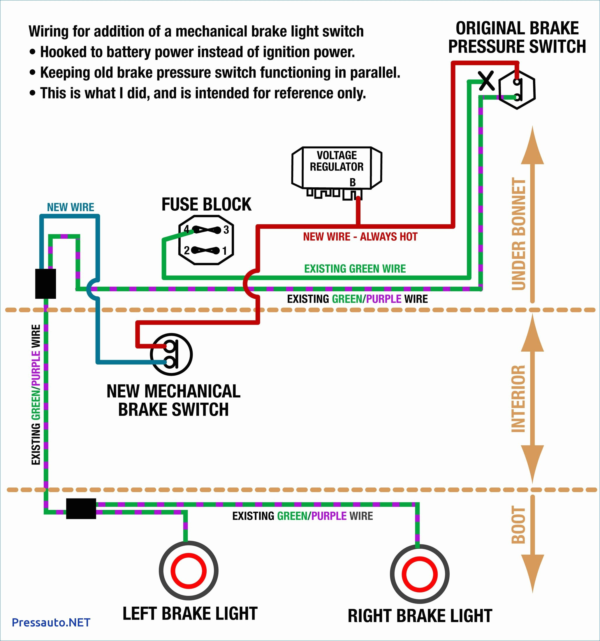 4 Way Trailer Plug Wiring Diagram