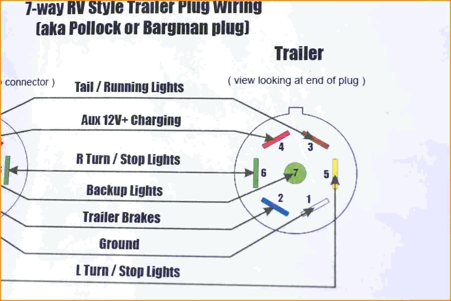 7 Wire Trailer Plug Diagram Unique Dodge Ram Pin Wiring Of Or - Dodge Ram 7 Pin Trailer Wiring Diagram