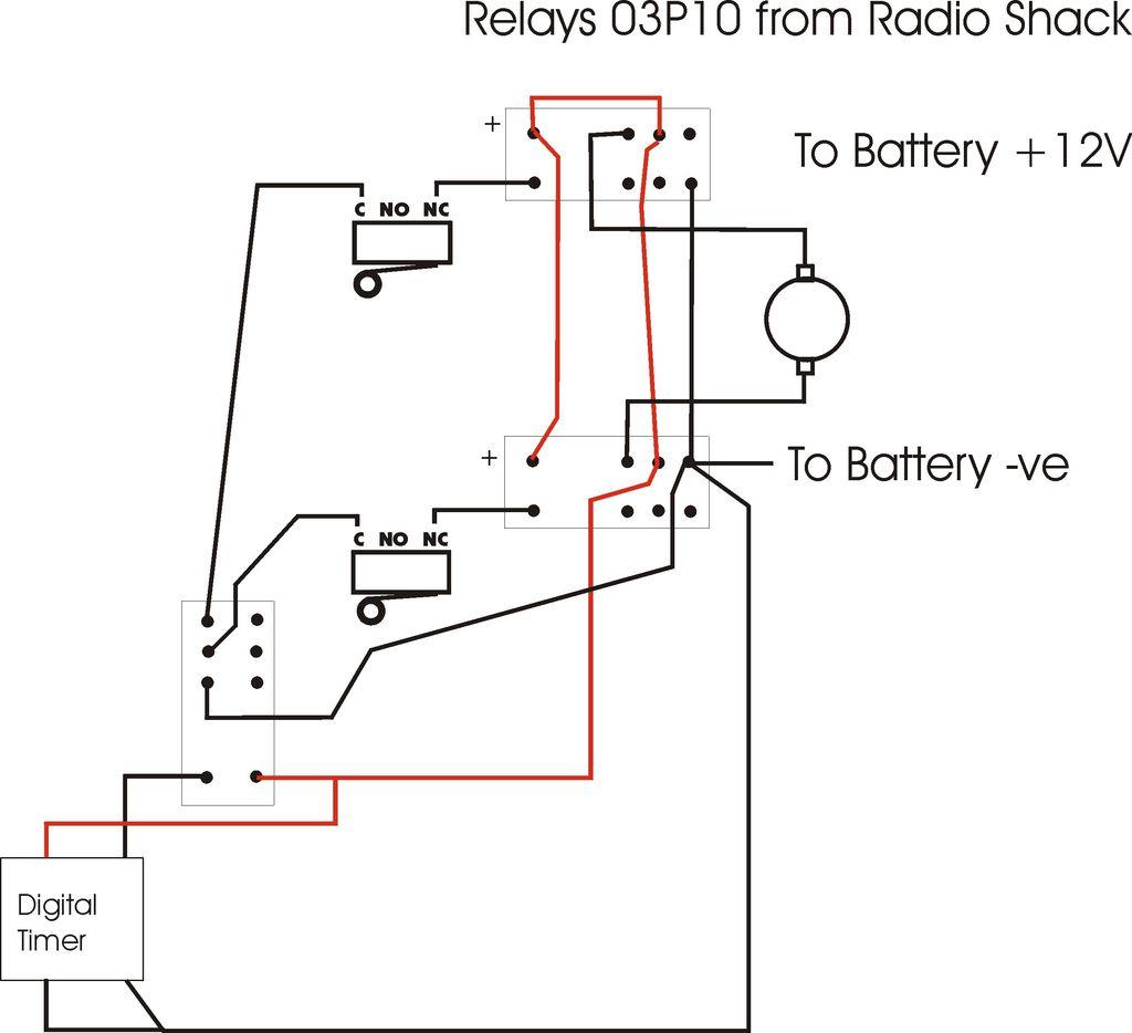 8 Pole Motor Wiring Diagram | Wiring Diagram - Relay Switch Wiring Diagram