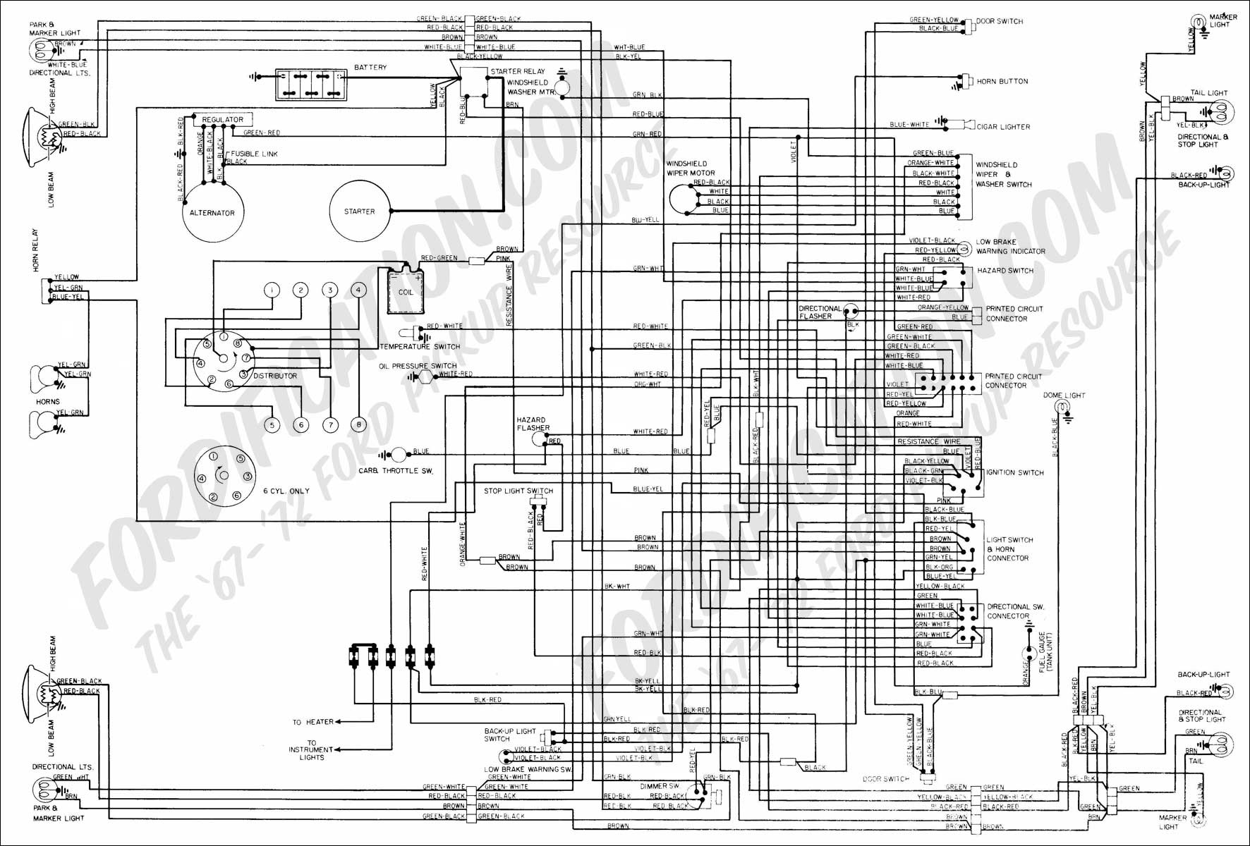 82 F150 Wiring Diagram | Wiring Diagram - Ford F250 Wiring Diagram For Trailer Lights