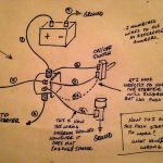 8N Ford Tractor Starter Solenoid Wiring Diagram A Button Illustration Of   Starter Solenoid Wiring Diagram Ford