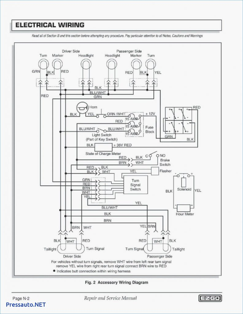 98 Ezgo Wiring Diagram