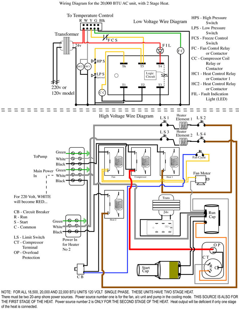 A C Unit Wiring Diagram | Schematic Diagram - Central Ac Wiring Diagram