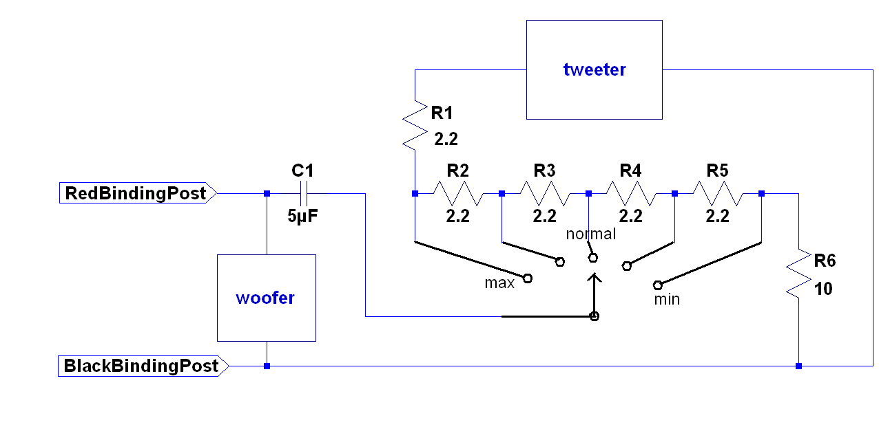 A25 Loudspeaker - Speaker And Tweeter Wiring Diagram