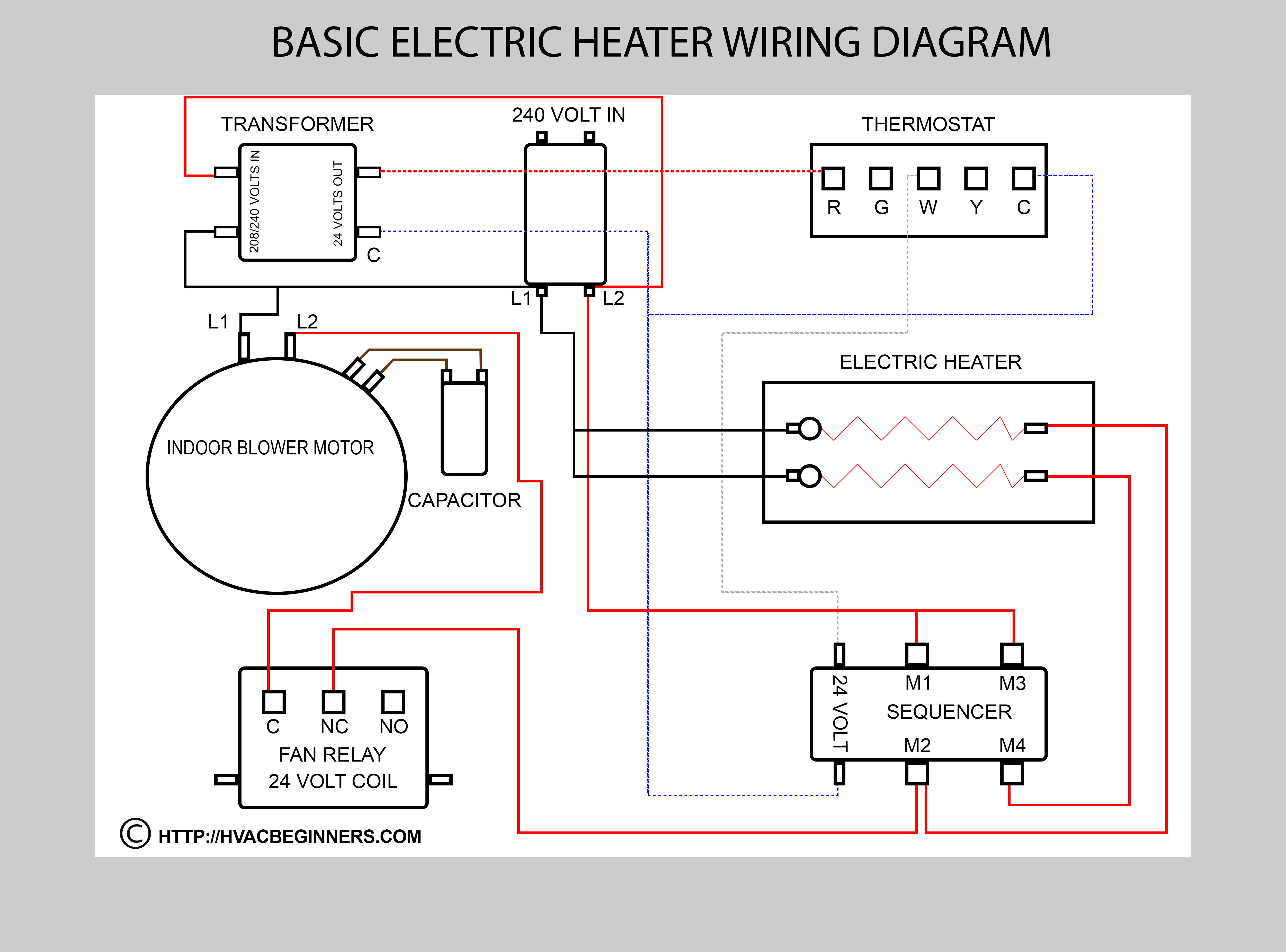Ac Air Handler Fan Relay Wiring Diagram | Wiring Diagram - Air Handler Fan Relay Wiring Diagram