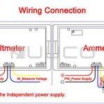 Ac Amp Meter Wiring Diagram | Manual E Books   Digital Volt Amp Meter Wiring Diagram