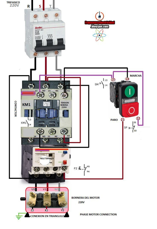 Ac Blower Motor Wiring Diagram Furthermore 3 Phase Star Delta Motor - 3 Phase Motor Starter Wiring Diagram