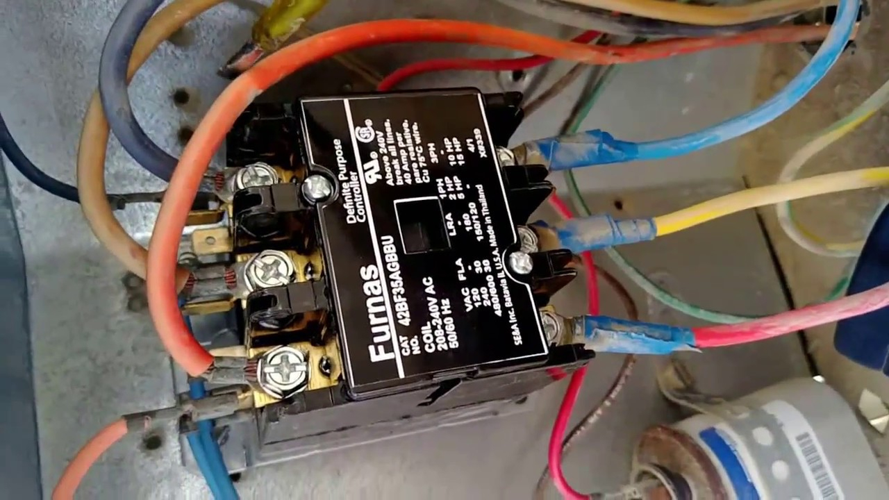 Ac Contactor Wiring - Wiring Diagram Data Oreo - Ac Contactor Wiring Diagram