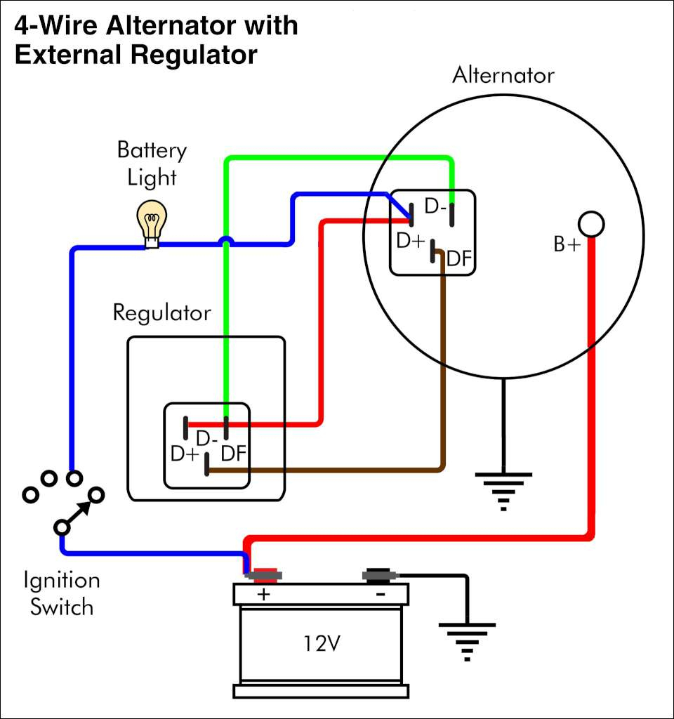 Ac Delco Alternator Wiring Diagram Caroldoey - Wiring Diagram Essig - Delco Alternator Wiring Diagram