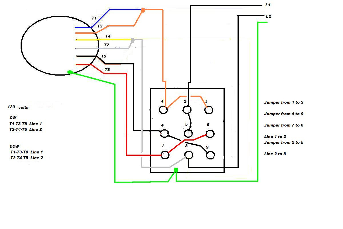 Ac Electric Motor Wiring Diagram - Wiring Diagrams Hubs - 240 Volt Single Phase Wiring Diagram