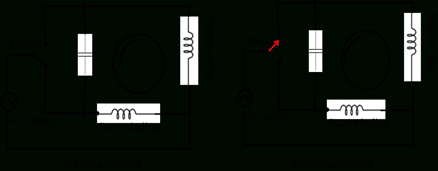 Ac Induction Motor Wiring - Wiring Diagram Data - Single Phase Motor Wiring Diagram