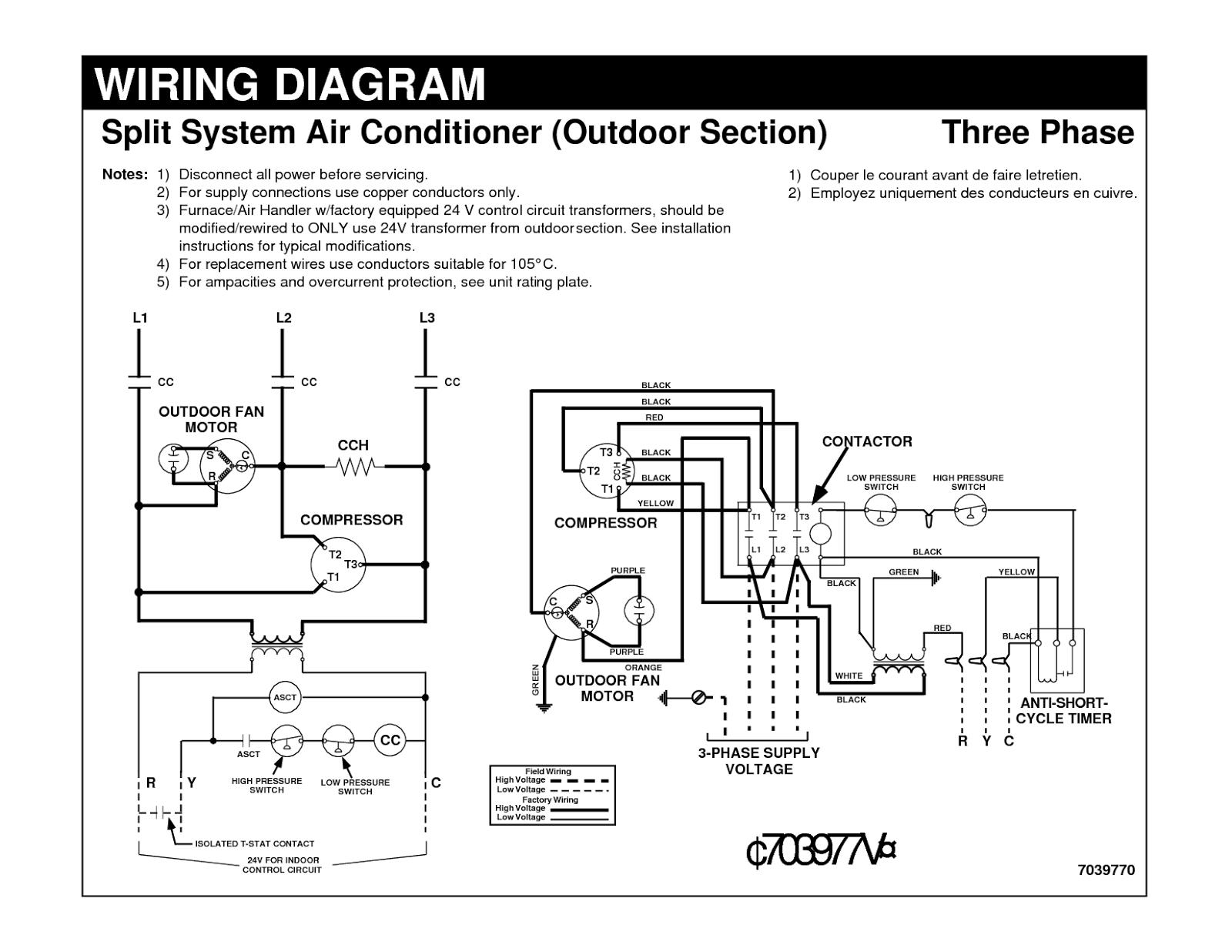 Ac Wire Diagram | Wiring Diagram - Ac Wiring Diagram Pdf