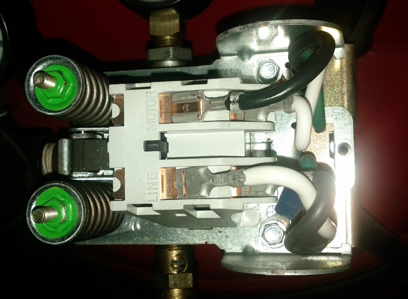 How To Wire A 240v Air Compressor Diagram Simple Air