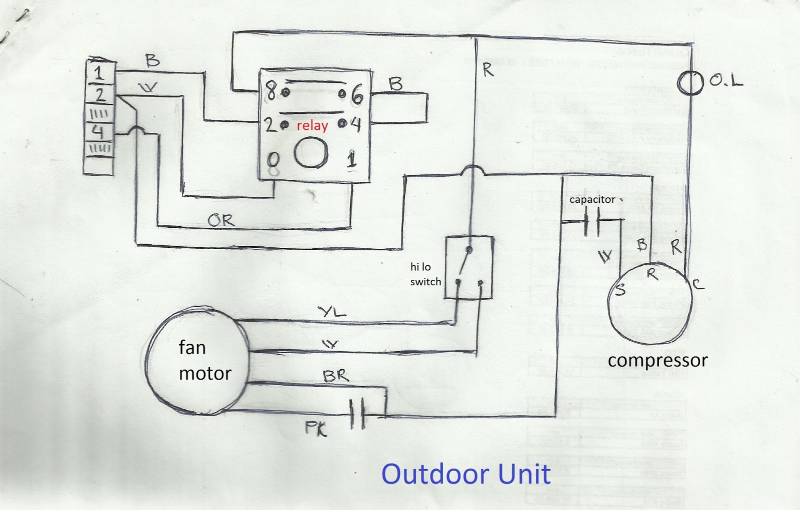 Air Compressor Dual Capacitor Wiring | Wiring Diagram - Ac Dual Capacitor Wiring Diagram