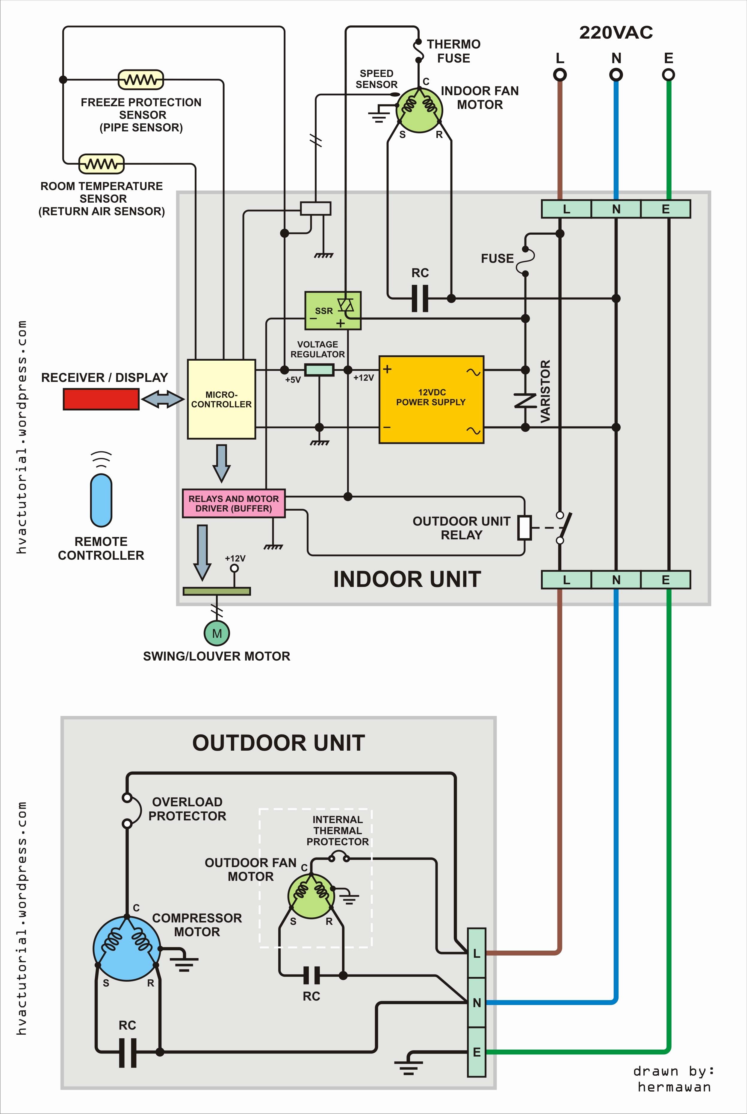 Air Conditioning Wiring Diagram | Wiring Diagram - Hvac Wiring Diagram
