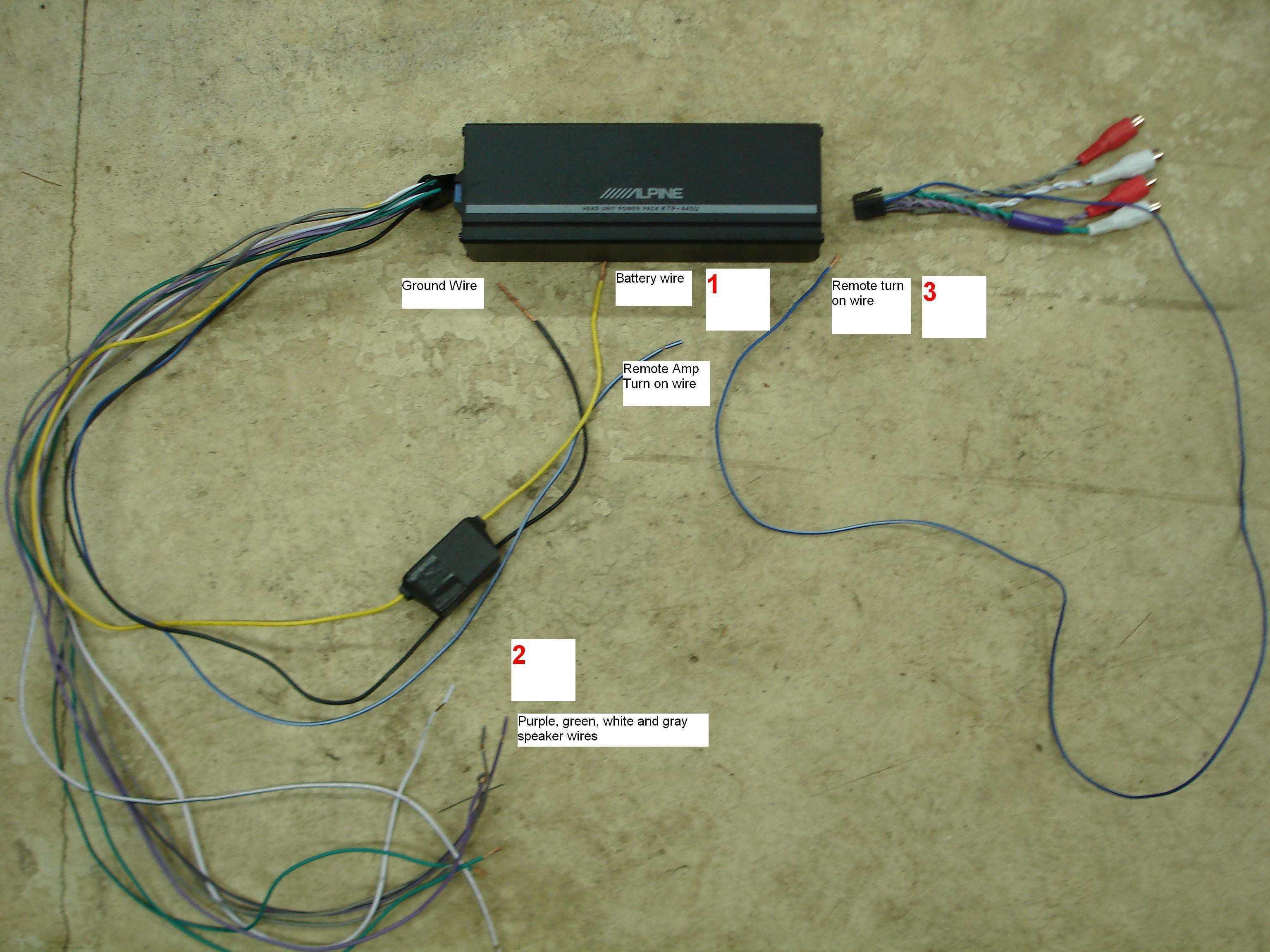 Alpine Cva 1000 Wiring Diagrams | Manual E-Books - Alpine Ktp 445U Wiring Diagram