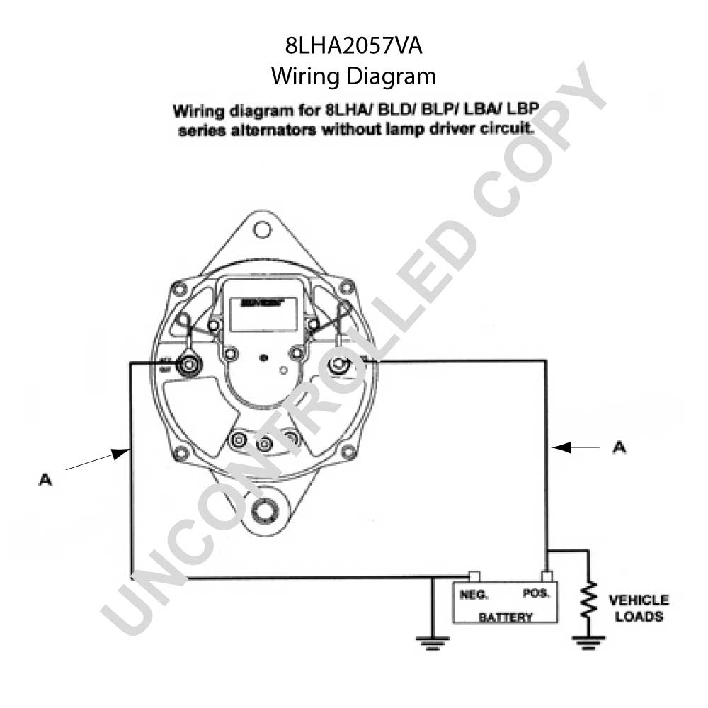 Alternator Wiring Diagram Internal Regulator | Manual E-Books - Alternator Wiring Diagram Internal Regulator