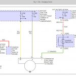 Alternator Wiring: I Was Replacing The Alternator Because The   Alternator To Battery Wiring Diagram