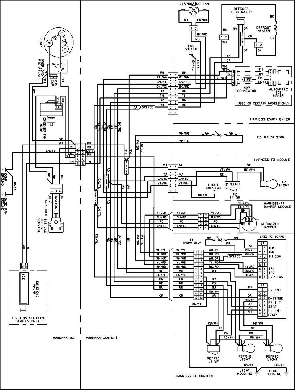 Amanna Refrigerator Wiring Diagram | Wiring Diagram - Refrigerator Wiring Diagram Pdf