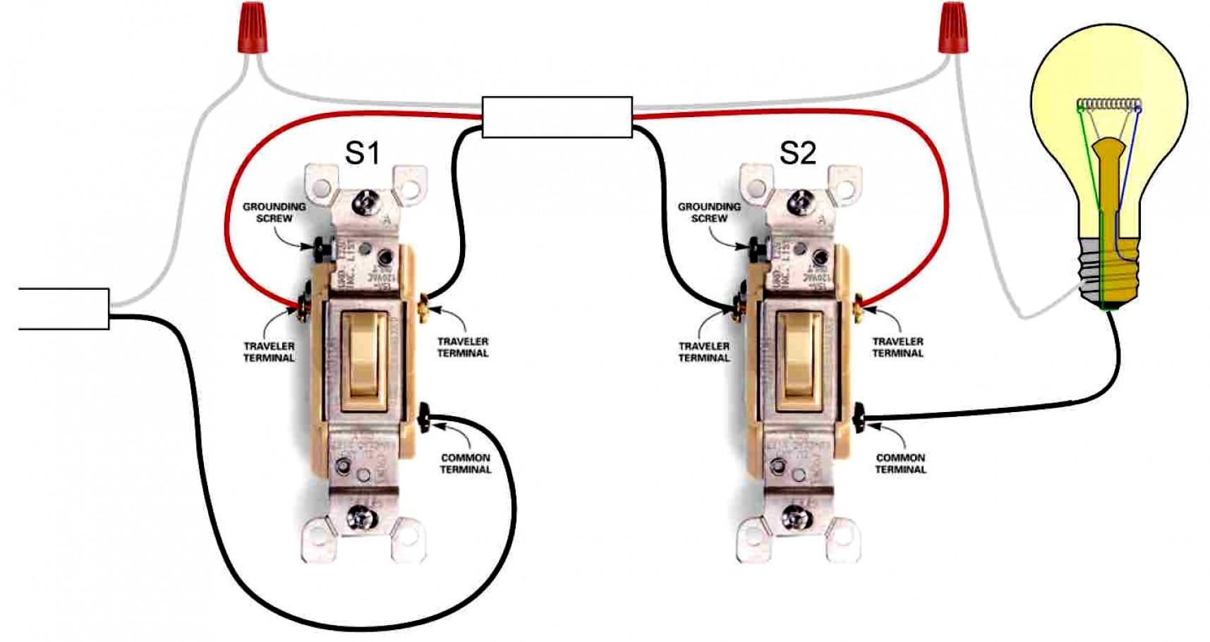 Amazing 3 Way Switch Single Pole Wiring Diagram Video On How To Wire - 3 Way Switch Single Pole Wiring Diagram
