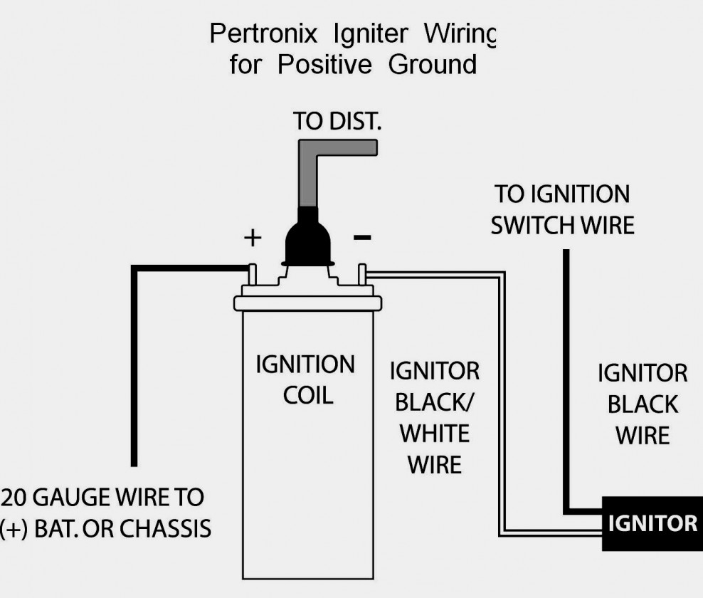 Amazing Of 6 Volt Positive Ground Wiring Diagram Pertronix - 6 Volt Positive Ground Wiring Diagram