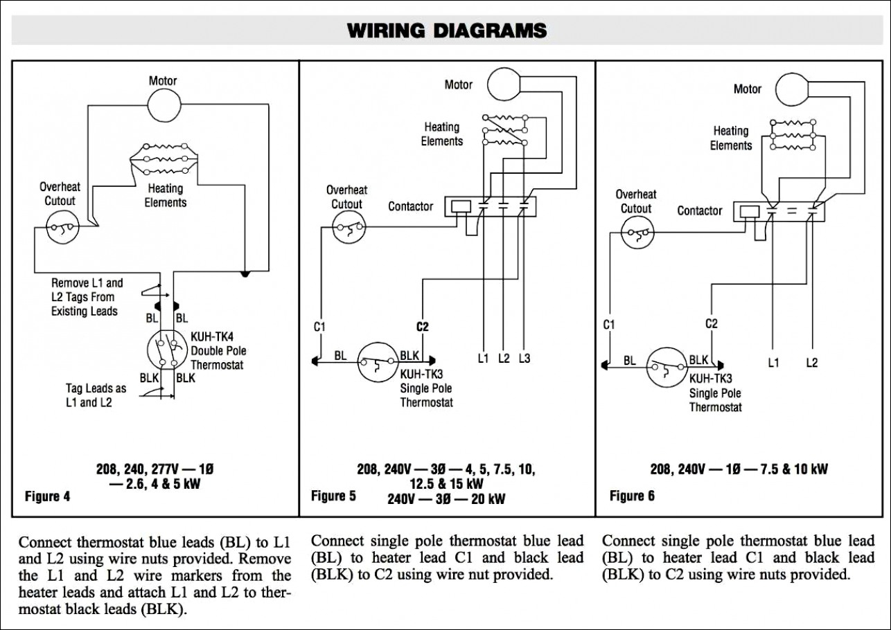 Amazing Of Baseboard Heater Wiring Diagram Multiple Heaters Just One - Double Pole Thermostat Wiring Diagram