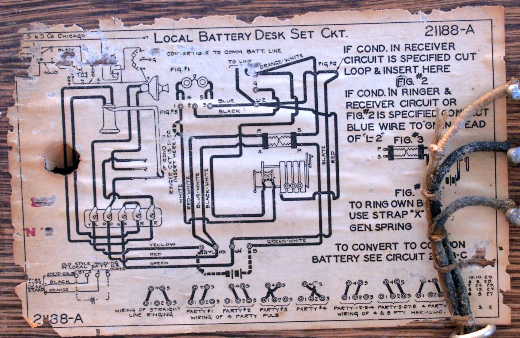 Antique Crank Phone Wiring Diagrams | Wiring Diagram - Old Telephone Wiring Diagram