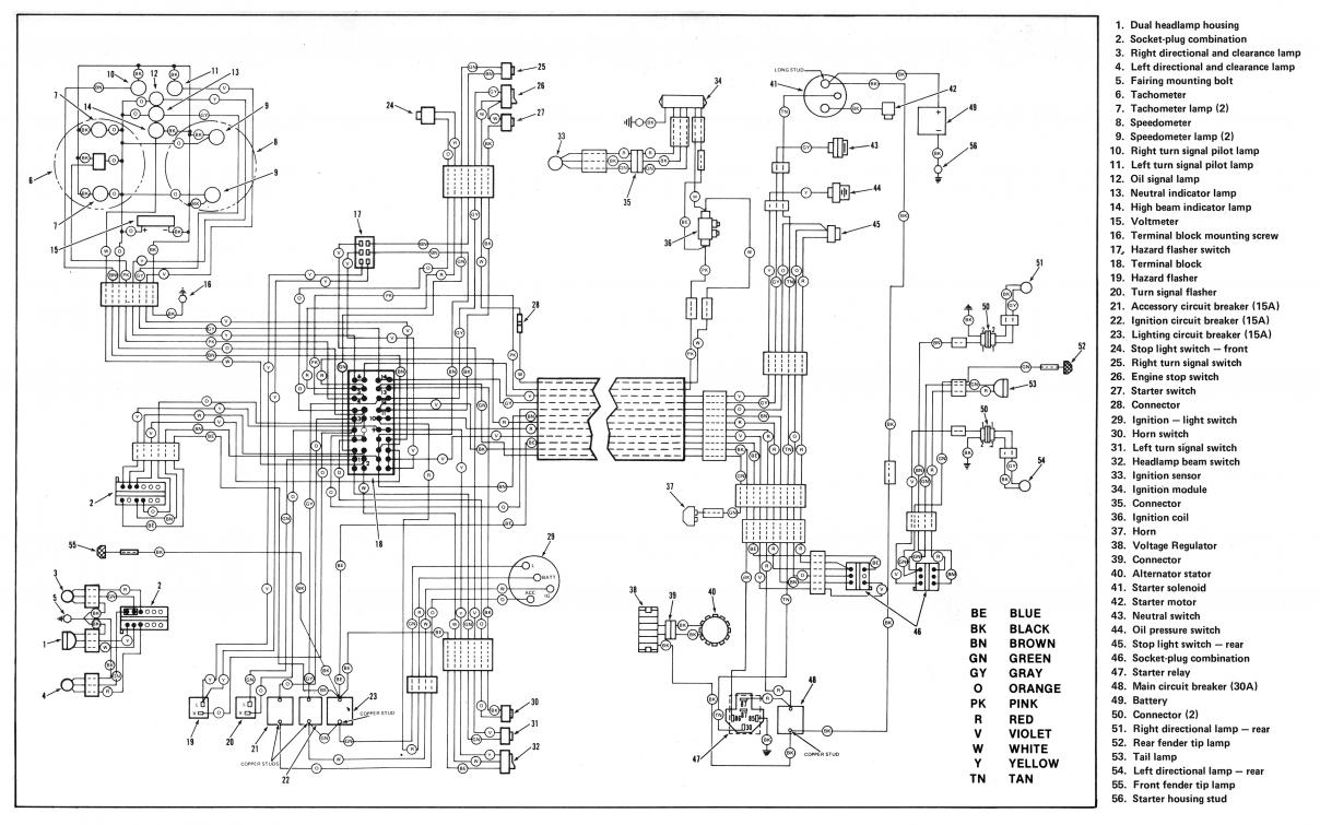 Anyone Have A Simple Wiring Diagram Using The 72-81 Style Handlebar - Simple Wiring Diagram