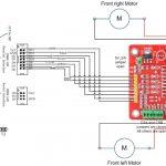Arduino Robot Kit – Wiring Diagram   Ad Hoc Node   Arduino Wiring Diagram