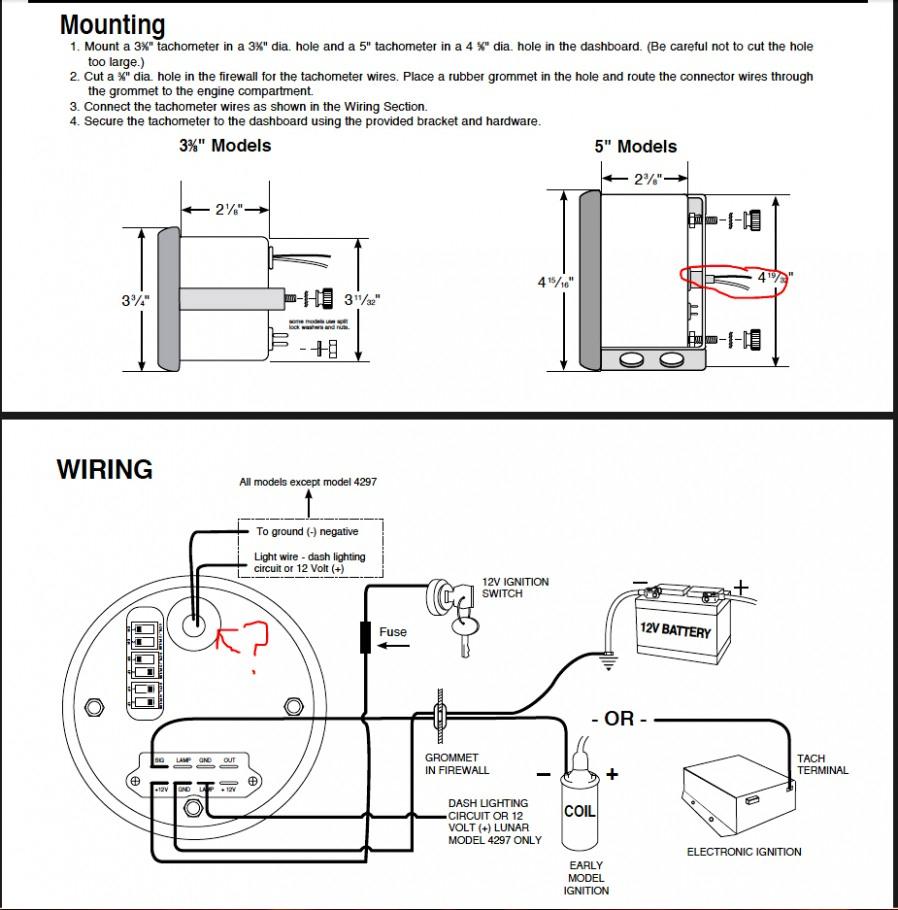 Autometer Rpm Wiring Diagram | Wiring Diagram - Autometer Tach Wiring Diagram