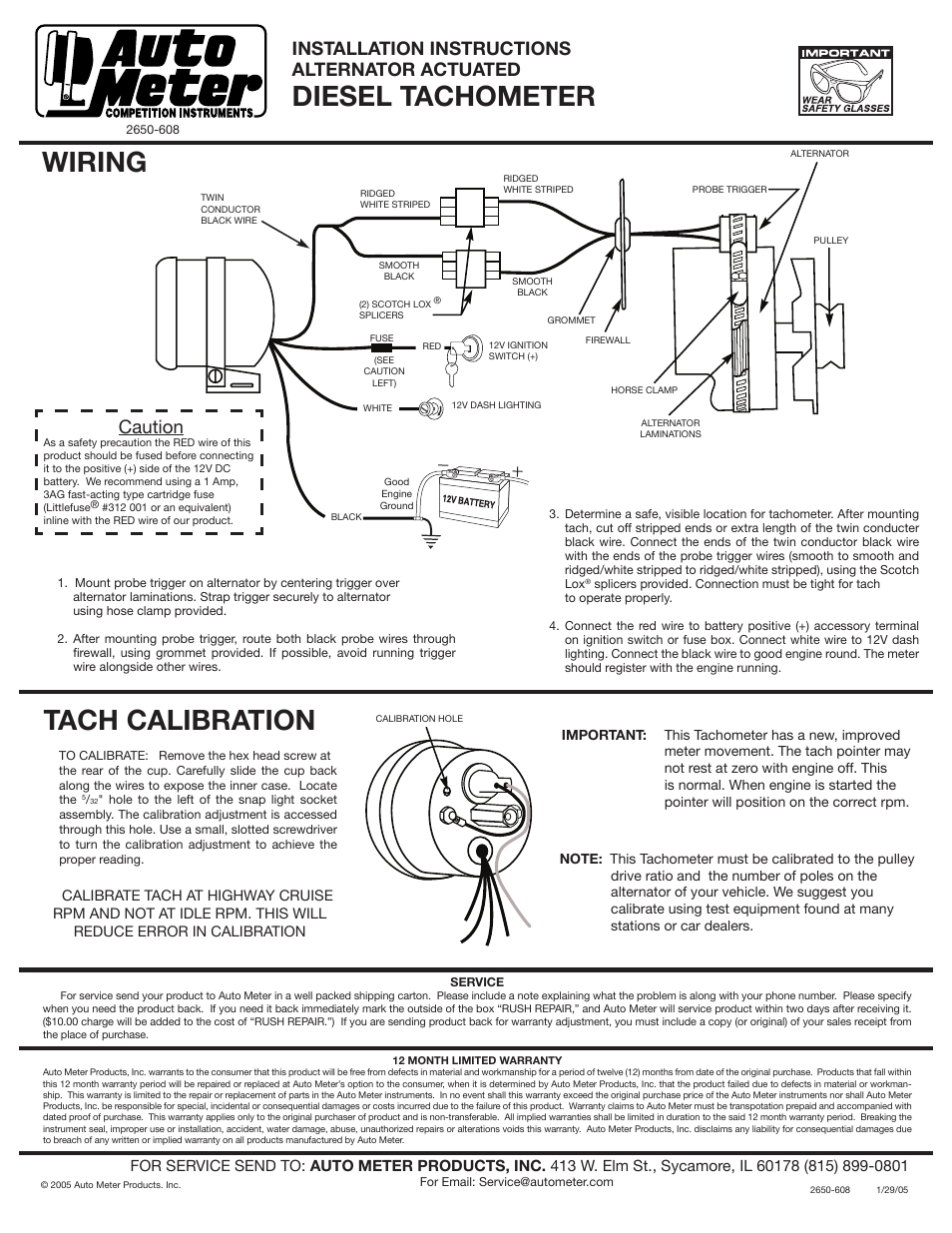 Autometer Tach Wiring | Wiring Diagram - Autometer Tach Wiring Diagram