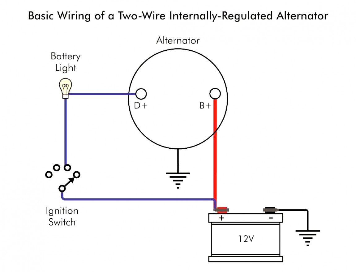 Awesome Of 1 Wire Chevy Alternator Wiring Diagram Trusted - Chevy Alternator Wiring Diagram