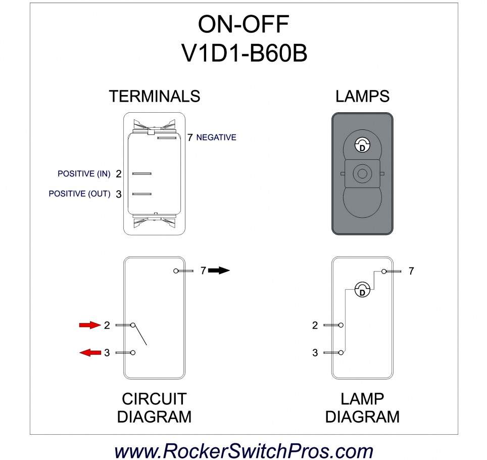 3 Prong Rocker Switch Wiring Diagram from 2020cadillac.com