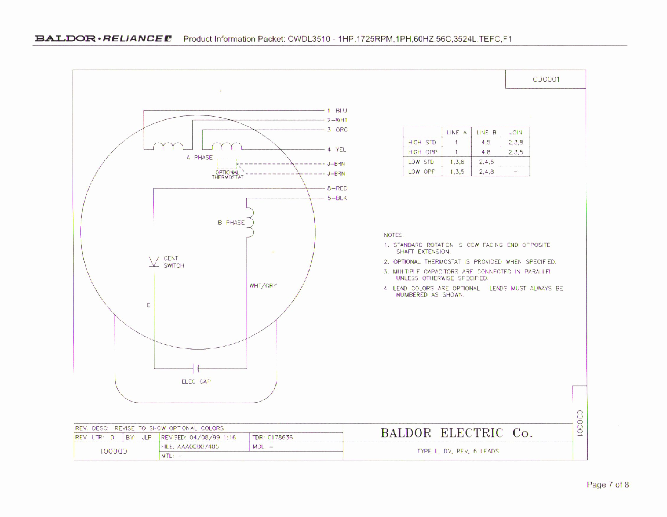 Baldor Electric Motor Wiring Diagram Beautiful Baldor 12 Lead Motor - 12 Lead Motor Wiring Diagram