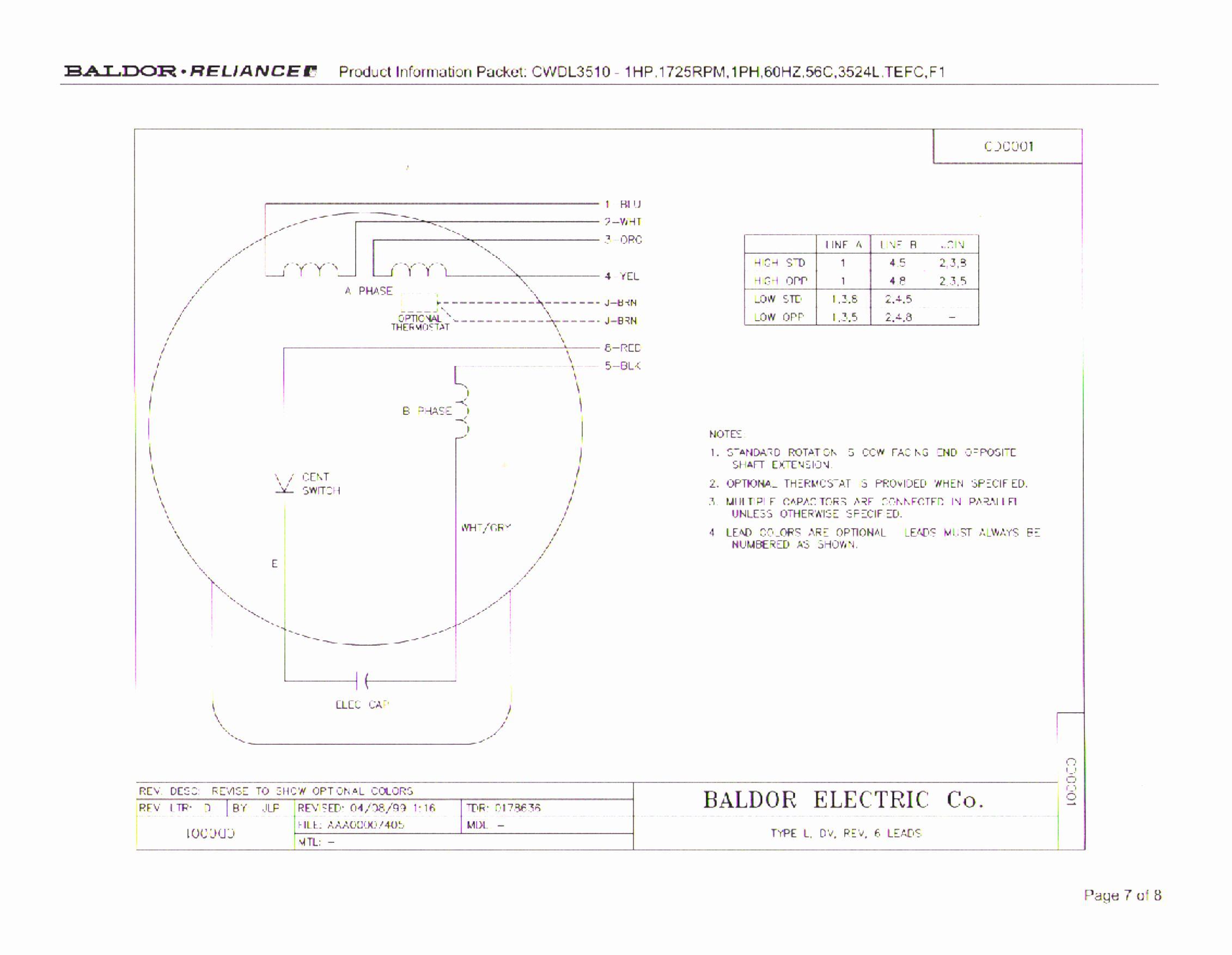 Baldor Electric Motor Wiring Diagram Beautiful Baldor 12 Lead Motor - 12 Lead Motor Wiring Diagram