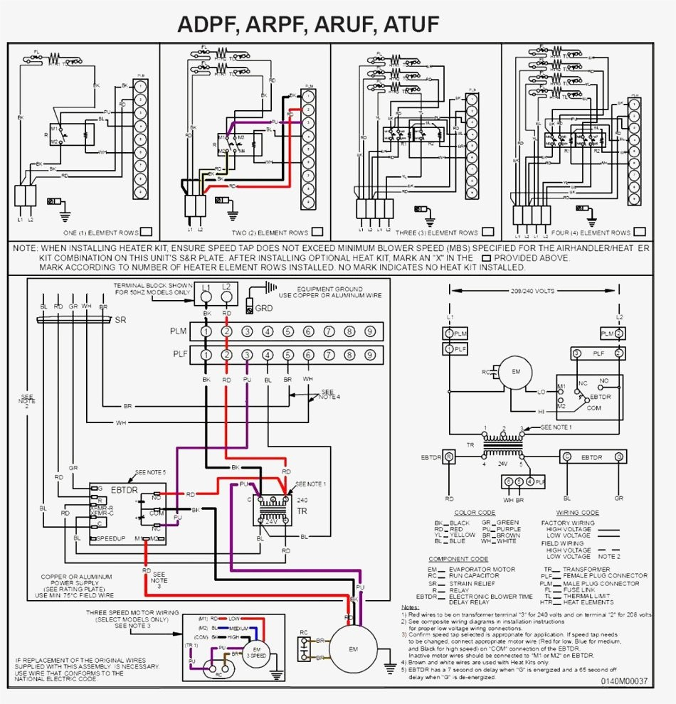 Bard Hvac Wiring Diagrams | Wiring Diagram - Trane Rooftop Unit Wiring Diagram