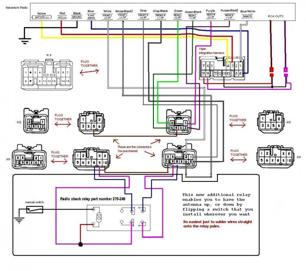 Basic Car Radio Wiring