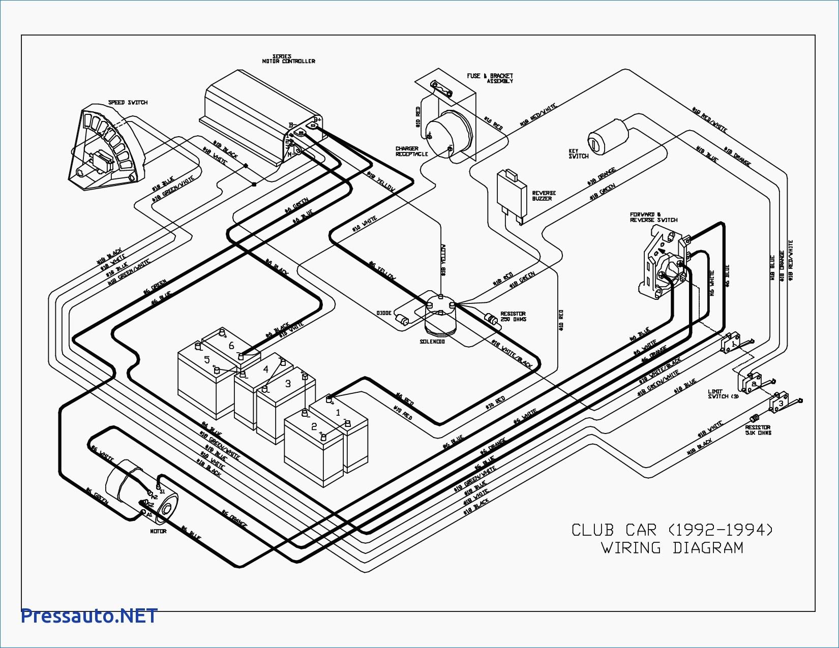 Battery Wiring For 2002 Club Car - Wiring Diagram Data - Club Car Wiring Diagram
