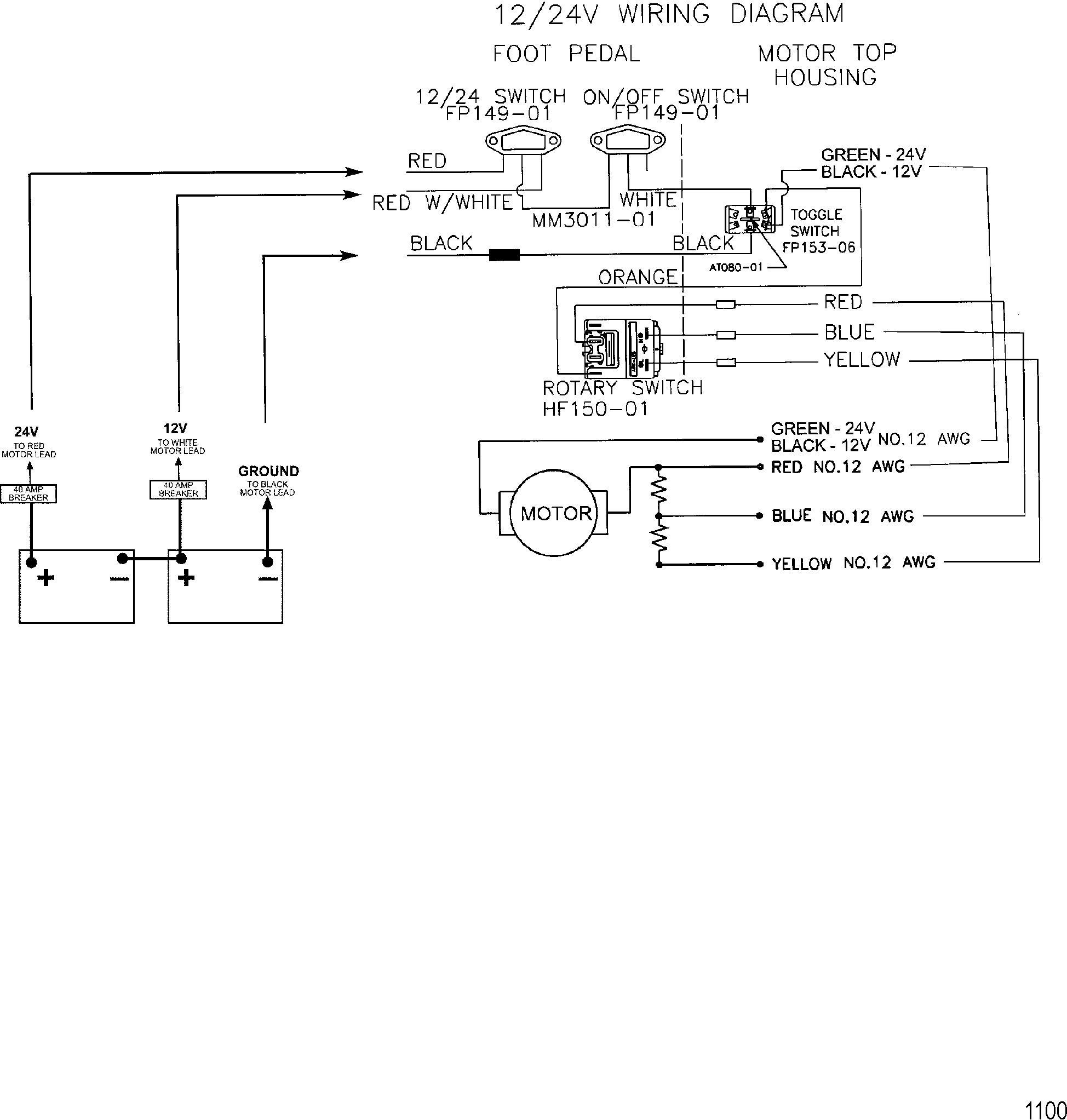 Beauteous 12V Trolling Motor Wiring Diagram 03 Chevy Yruck Is Like - 12V Trolling Motor Wiring Diagram