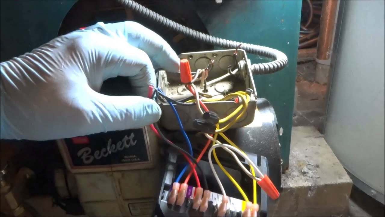 Beckett Oil Burner Will Not Run - Youtube - Beckett Oil Burner Wiring Diagram